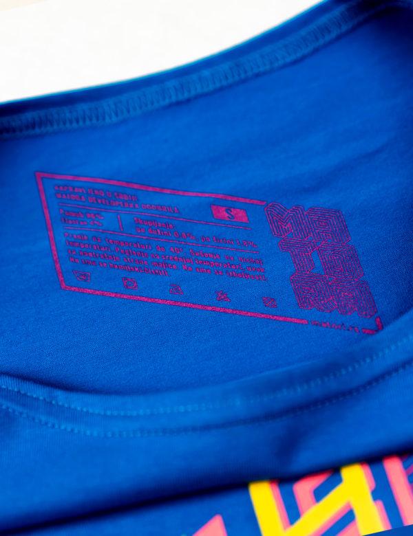 Matora Rojal plava Developerka Print sirovinska etiketa