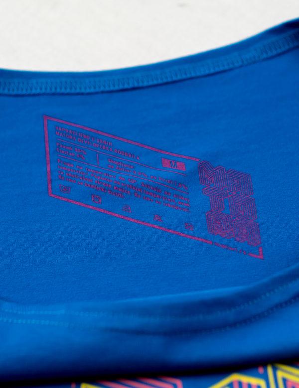 Rojal plava Debuguje Sirovinska etiketa